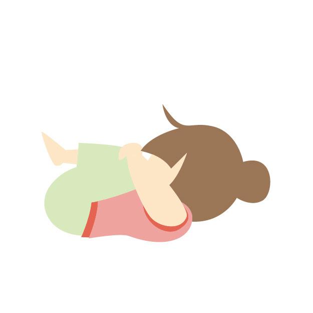 寝る前におすすめヨガポーズ
